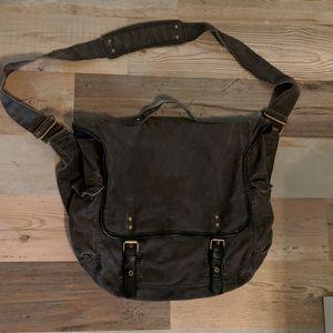 J. Crew messenger laptop bag.